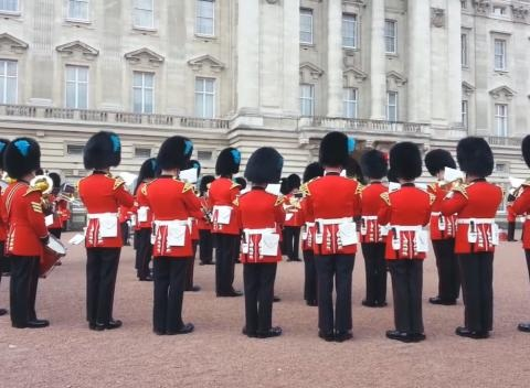 News video: Royal Guards Play Game of Thrones Theme Song