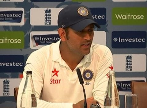 News video: Dhoni and Cook React as Sharma Bowls India to Victory Over England