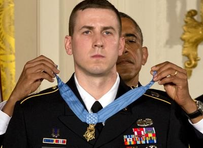 News video: Obama Bestows Medal of Honor on NH Veteran